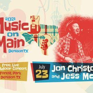 Music on Main featuring Jon Christopher Davis and Jess McAvoy