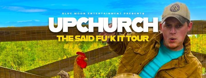 """Ryan Upchurch """"ALL AGES"""", 30 April 