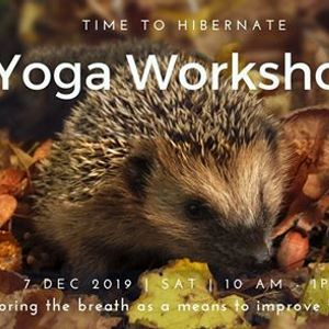 Yoga workshop - improve your sleep