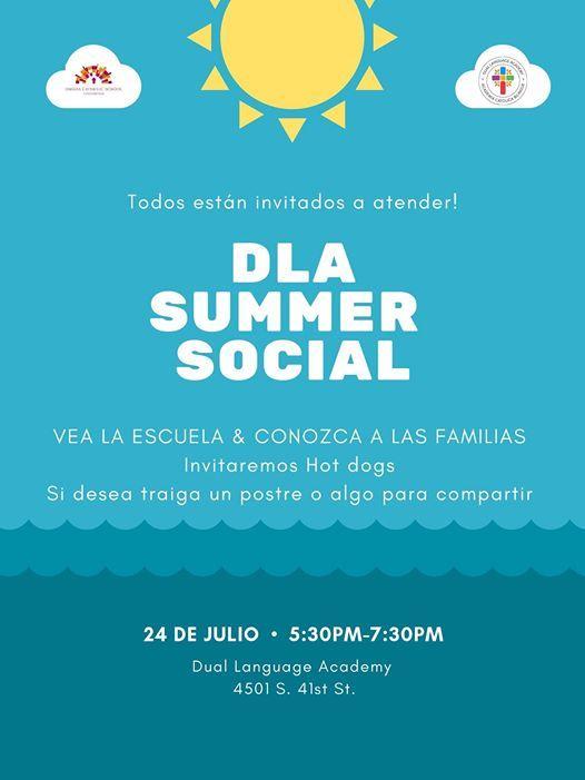 DLA Summer Social
