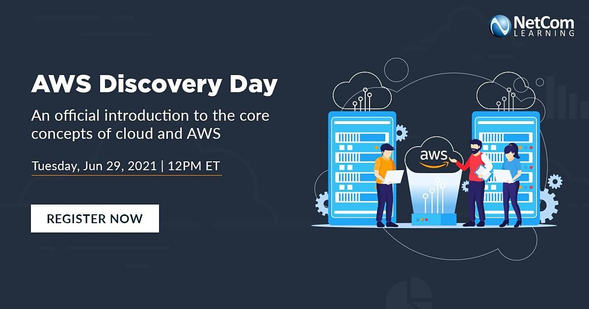 LIVE Webinar - AWS DISCOVERY DAY, 29 June | Event in New York | AllEvents.in