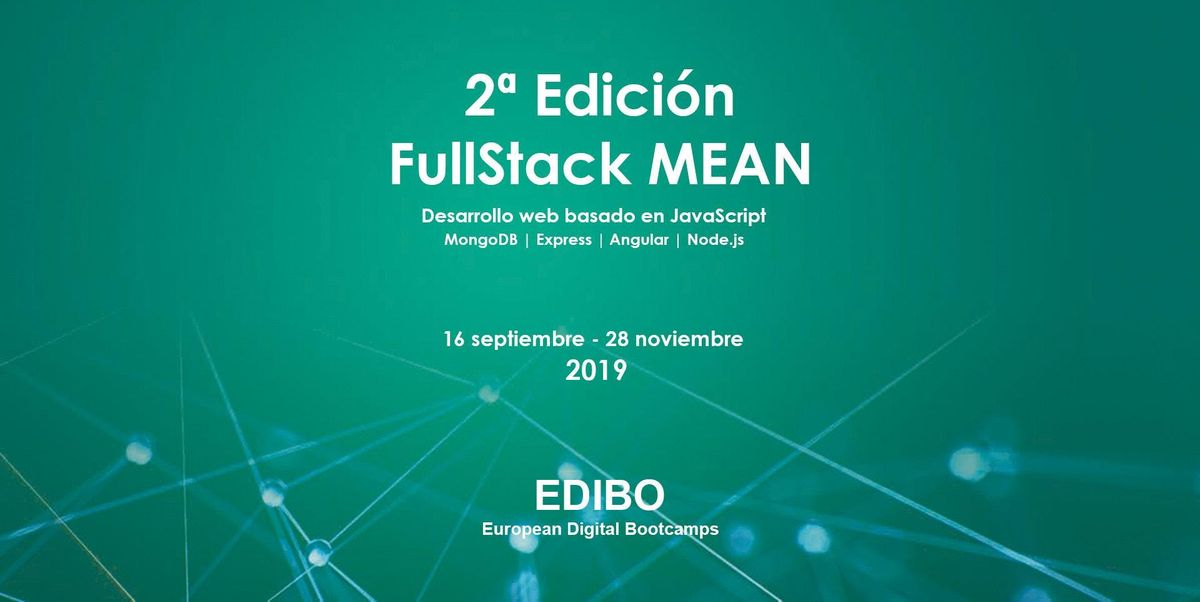 2 Edicin FullStack MEAN  Desarrollo web basado en JavaScript