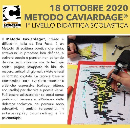 SOLD OUT - Corso metodo Caviardage® I° Livello didattica scolastica | Event in Castelfranco Veneto | AllEvents.in