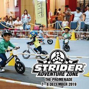 Strider Fun Race & Adventure Zone at The Promenade 2019