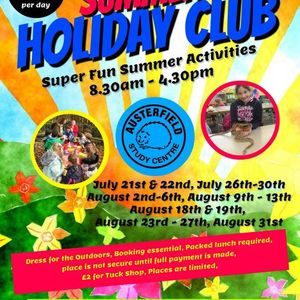 Summer Holiday Club Now Full