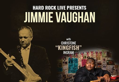 "Jimmie Vaughan with Christone ""Kingfish"" Ingram, 11 April 