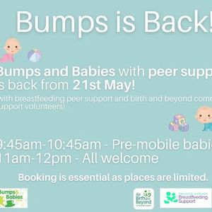 Bumps and Babies with Peer Support