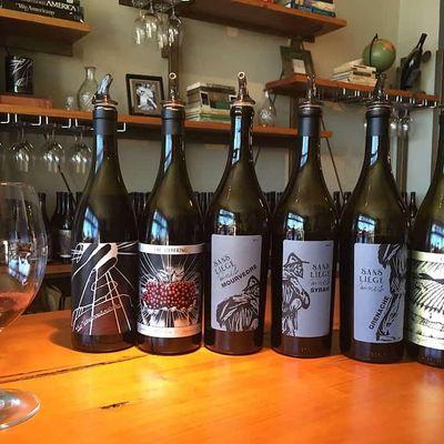 Virtual Tasting with winemaker Curt Schalchlin of Sans Liege Wines in CA
