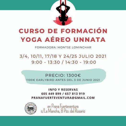 Curso de Formación Yoga Aéreo Unnata, 3 July | Event in Las Palmas | AllEvents.in