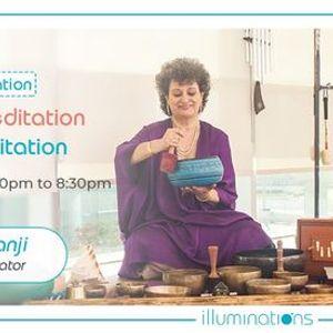 Onsite Meditation Violet Flame Meditation And Gonging