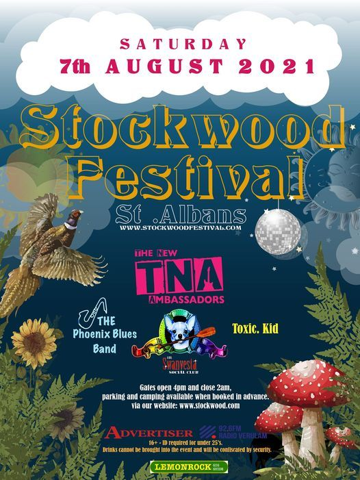 Stockwood Festival 2021, 7 August   Event in Saint Albans   AllEvents.in