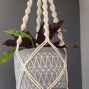 Make It Take It Macrame Plant Hanger