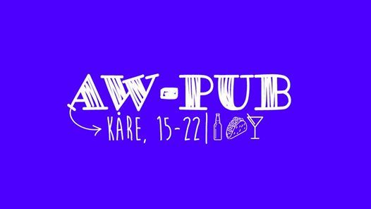 AW-pub  OBS Postponed new date will come.