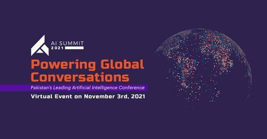 AI Summit 2021, 20 March | Event in Karachi | AllEvents.in