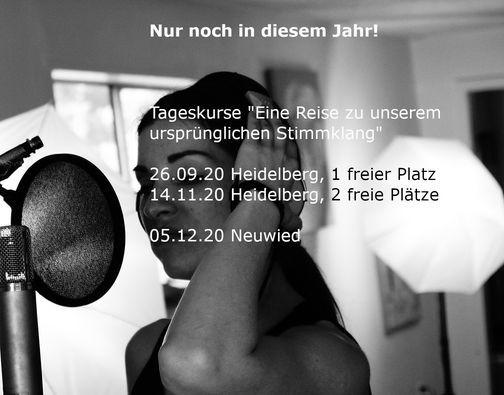 """Tageskurs """" Eine Reise zu unserem ursprünglichen Stimmklang"""", 5 December   Event in Neuwied   AllEvents.in"""