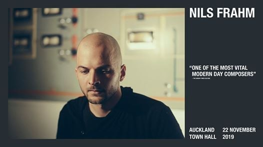 Nils Frahm LIVE at Auckland Town Hall, Auckland