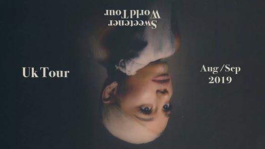 Ariana Grande: Sweetener Tour 2019 at Fly DSA Arena, Nottingham