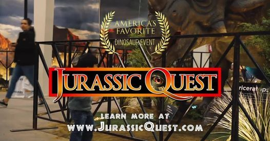 Jurassic Quest   Quad Cities, 4 December   Event in Rock Island   AllEvents.in