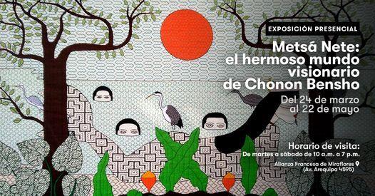 Exposición Metsá Nete: el hermoso mundo visionario de Chonon Bensho | Event in Miraflores | AllEvents.in