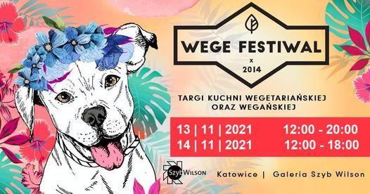 Wege Festiwal Silesia <3, 13 November   Event in Katowice   AllEvents.in