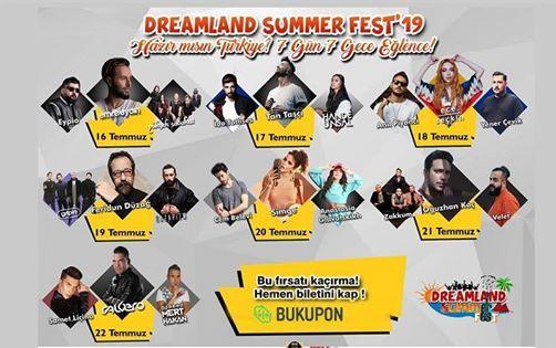 Dreamland Summer Fest19