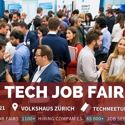 Zurich Tech Job Fair  by Techmeetups