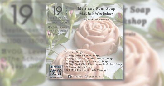 YO Workshop Melt and Pour Soap Making