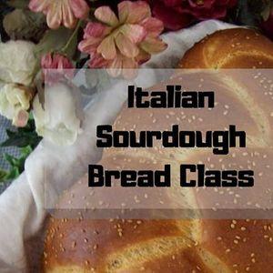 Italian Sourdough Bread Class