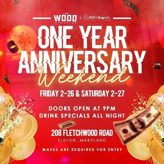 One Year Anniversary Weekend Party | Event in Elkton | AllEvents.in