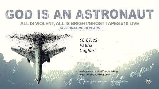 God Is An Astronaut | Fabrik, Cagliari, 10 July | Event in Cagliari | AllEvents.in