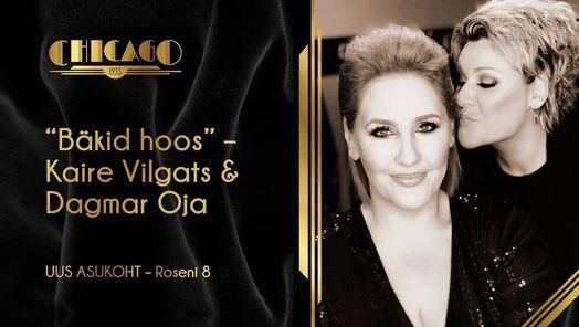 "Kaire Vilgats & Dagmar Oja ""Bäkid hoos"" | Event in Tallinn | AllEvents.in"