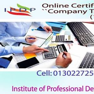 Online Certificate Course on Company Tax Management  (10 Days Evening)