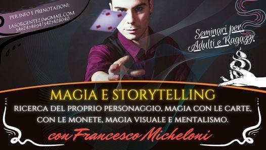 Seminario di Prestigiazione e Storytelling per adulti e ragazzi, 24 January | Event in Florence | AllEvents.in