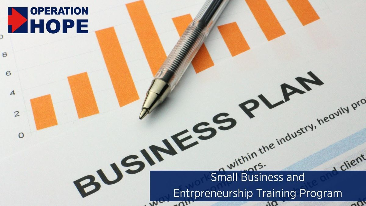 Operation HOPE Small Business Workshop in Harlem at CUNY