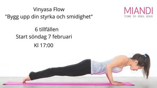 Vinyasa Flow, 6 tillfällen, 7 March | Event in Oskarshamn | AllEvents.in
