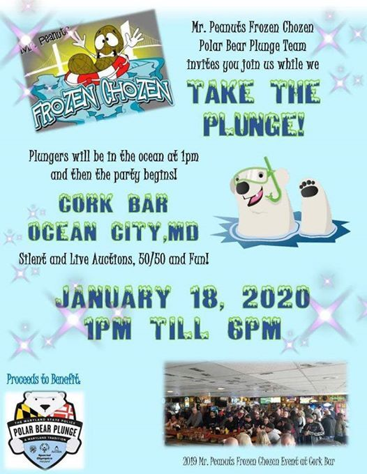 Ocean City Md Events 2020.Take The Plunge 2020 Ocean City Md Ocean City