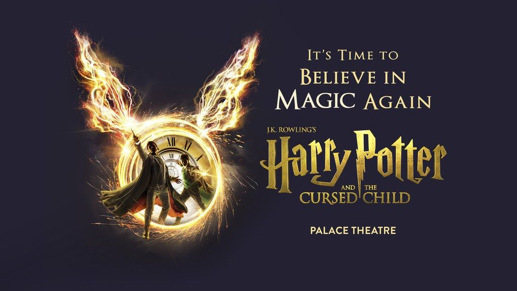 Harry Potter and the Cursed Child - Parts 1 & 2 Thu & Fri 19:00, 14 October | Event in London | AllEvents.in