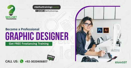 Become a Professional Graphic Designer with FREE Freelancing Training | Event in Lahore | AllEvents.in