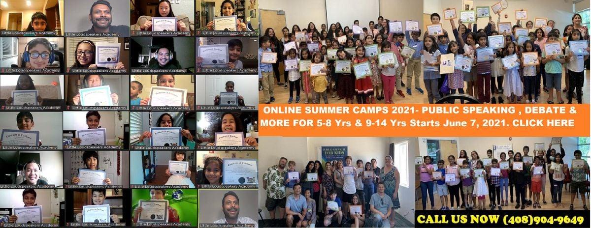 Online Summer Camp Public Speaking for Kid's  9-14 Yrs   Online Event   AllEvents.in