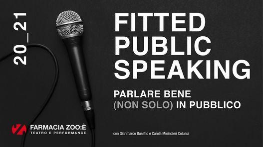 FITTED PUBLIC SPEAKING Parlare bene (non solo) in pubblico, 12 March | Event in Mestre | AllEvents.in