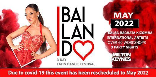 Bailando Latin Dance Festival, 6 May   Event in Milton Keynes   AllEvents.in