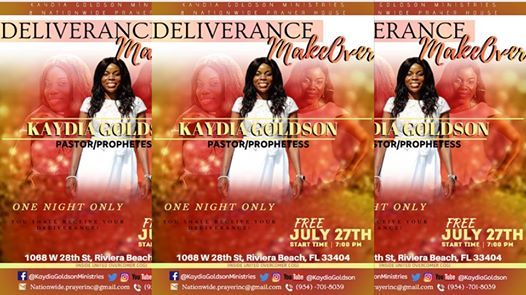 Prophetic Deliverance Ministry events in the City  Top Upcoming