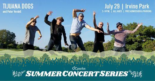 Tijuana Dogs: 2021 OC Parks Summer Concert Series, 29 July   Event in Orange   AllEvents.in