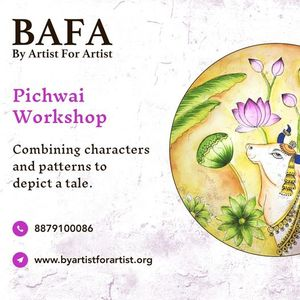 Pichwai Online Workshop with BAFA