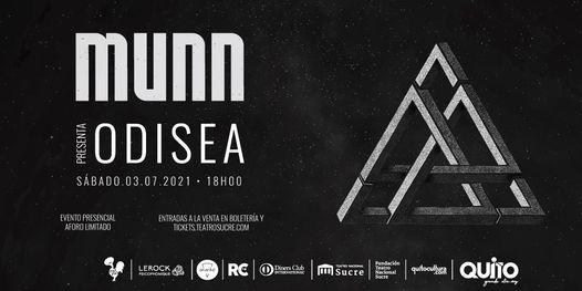 Lanzamiento ODISEA de MUNN, 3 July | Event in Quito | AllEvents.in