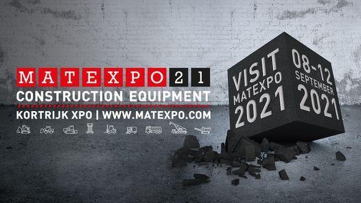 Matexpo 2021 (official), 8 September   Event in Kortrijk   AllEvents.in