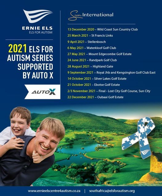 Els for Autism - Silver Lakes, 14 October   Event in Cullinan   AllEvents.in