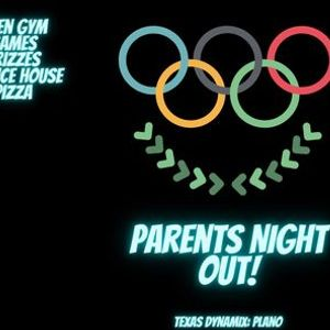 Parents Night Out Olympics Theme