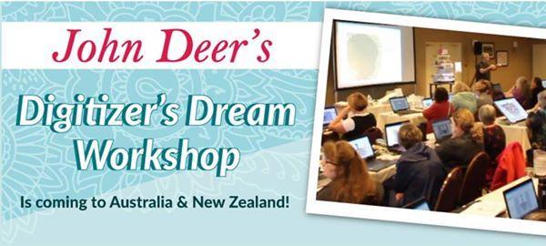 John Deers Digitizers Dream Workshop - Auckland