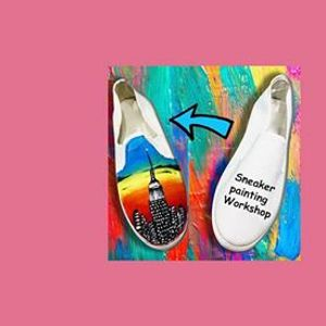 Digital DIY] Sneaker Painting Class
